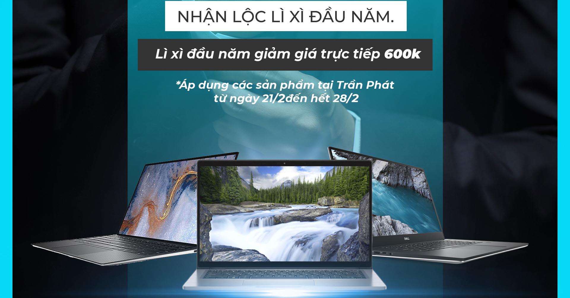 """Chương trình ưu đãi """"Nhận lộc lì xì đầu năm khi sắm Laptop"""" tại Trần Phát"""