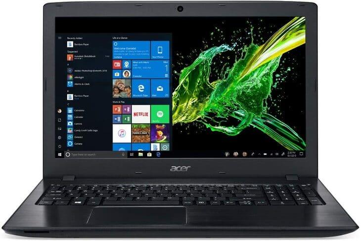 thiết kế đồ họa nên dùng laptop nào  acer aspire e5 576g 88eg