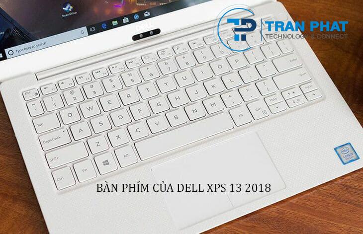 Bàn phím của Dell XPS 13 2018