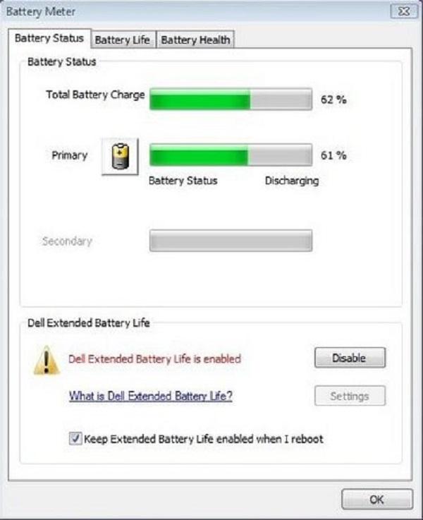 cách cài đặt chế độ sạc pin laptop