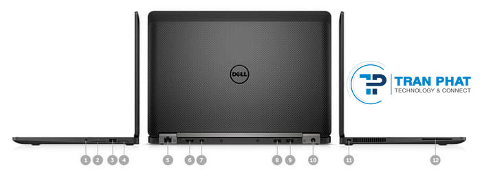 Cổng giao tiếp Dell Latitude E7270