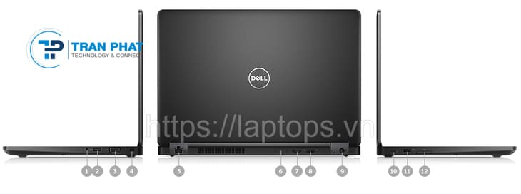 Cổng giao tiếp của Dell Latitude 5480