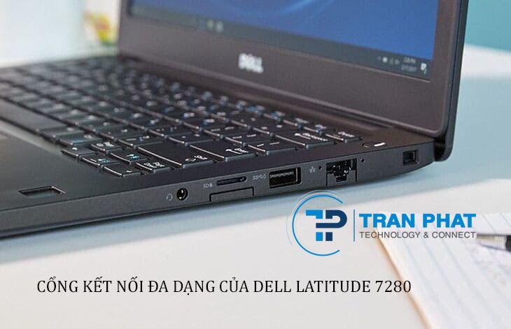 Cổng kết nối đa năng trên laptop Dell Latitude 7280