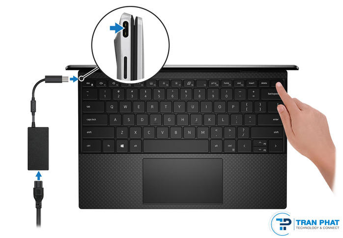 cổng kết nối dell xps 13 9300