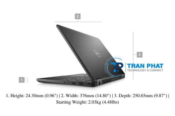 kích thước màn hình dell precision 3530