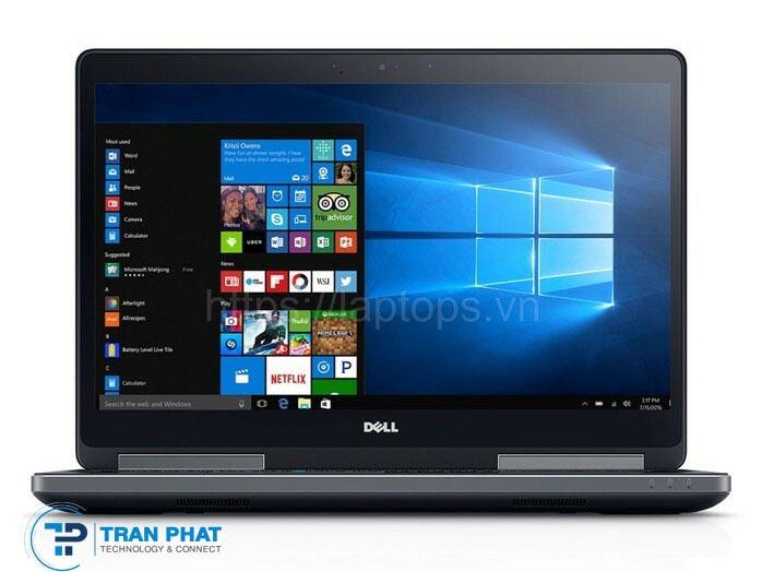 Màn hình hiển thị sắc nét của Dell Precision 7520