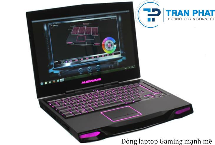 Dòng laptop gaming mạnh mẽ
