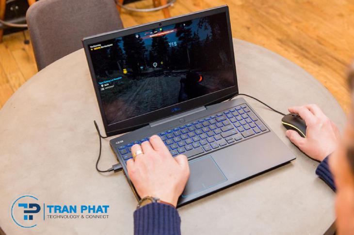 Dell G3 3500 với cổng kết nối thông minh, thao tác nhanh nhạy và linh hoạt