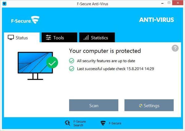 Phần mềm diệt virus F-Secure Anti-Virus