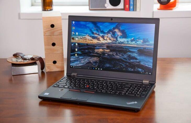 Hiệu năng của laptop lenovo p51