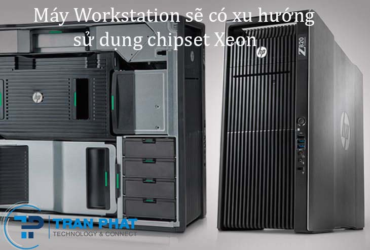 Máy trạm workstation HP z820 với chip Intel Xeon 16 core 2
