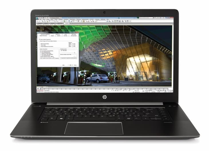 Laptop hp workstation ZBook 17 G3 với mức giá tầm trung