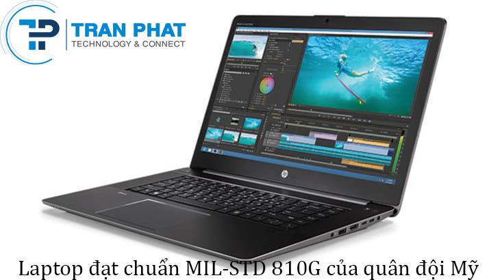 HP laptop workstation Studio Zbook G3 đạt chuẩn quân đội Mỹ