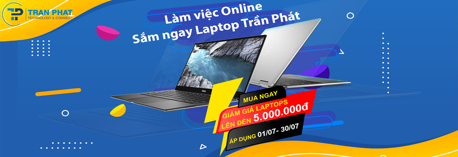 Làm việc Online - Ưu đãi Laptop Tháng 6
