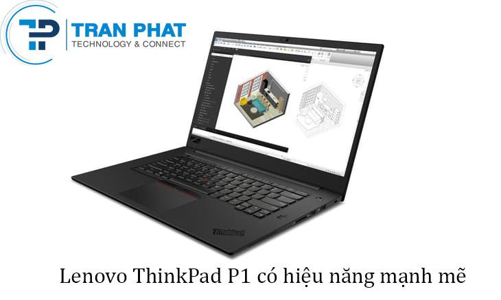 Máy trạm laptop Lenovo Thinkpad P1 cao cấp