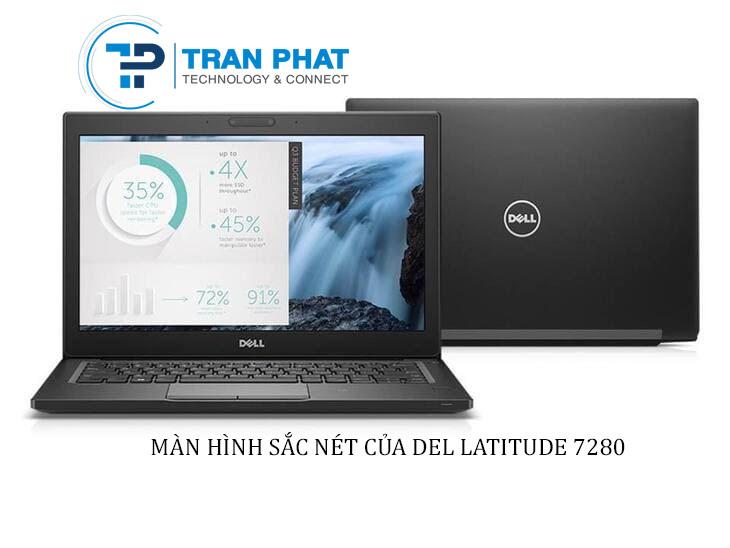 Màn hình Full HD sắc nét của Dell Latitude 7280