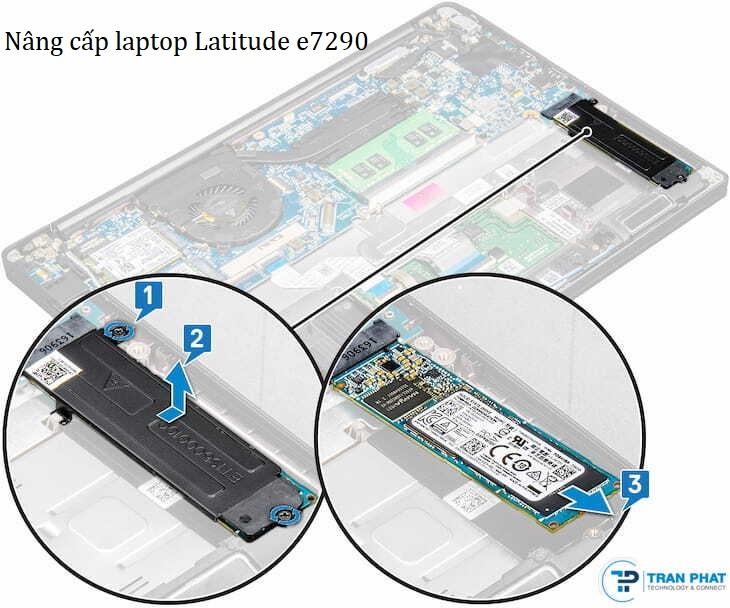 nâng cấp laptop Latitude e7290