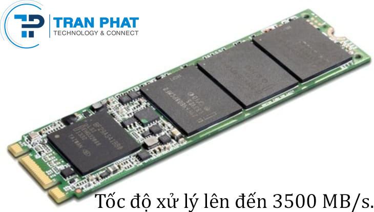 SSD M2 PCIe có kích thướt nhỏ gọn