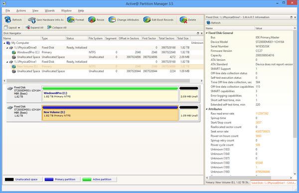 Phần mềm Active@ Partition Manager