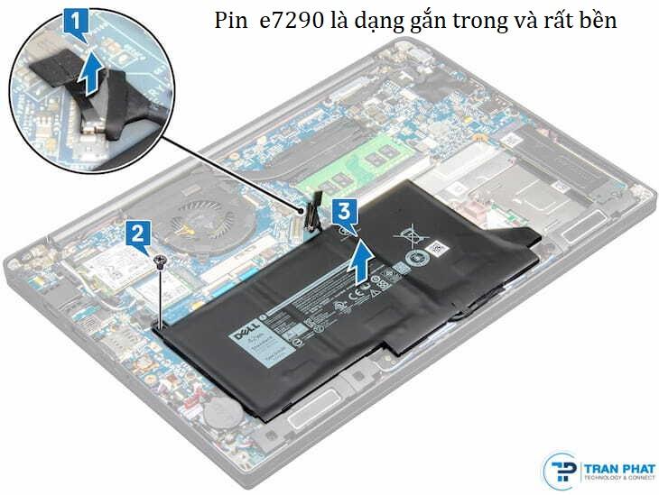 pin  e7290 bền