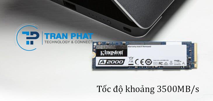 Tốc độ của ổ cứng SSD M2 PCIe khoảng 3500MB/s