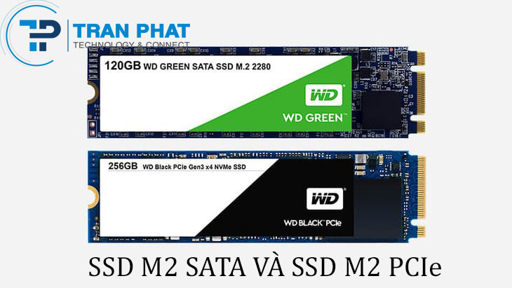 Phân biệt ổ cứng SSD M2 SATA và SSD M2 PCIe