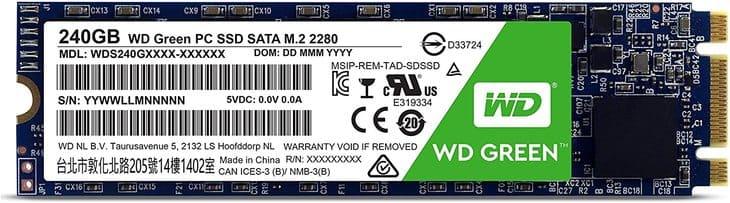 ổ cứng SSD M2 SATA WD GREEN