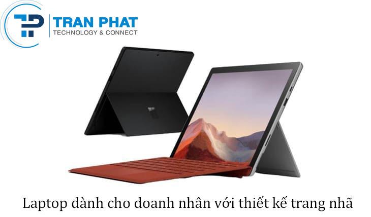 Mẫu laptop với thiết kế trang nhã