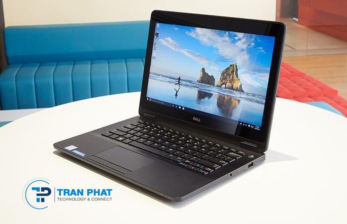 Thiết kế mỏng nhẹ Dell Latitude E7270