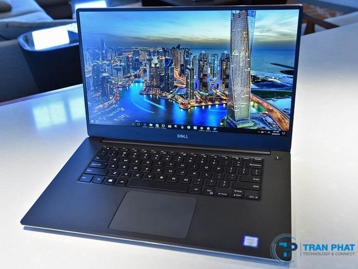 Laptop Dell XPS 15 9550 sở hữu thiết kế thanh mảnh, sang trọng