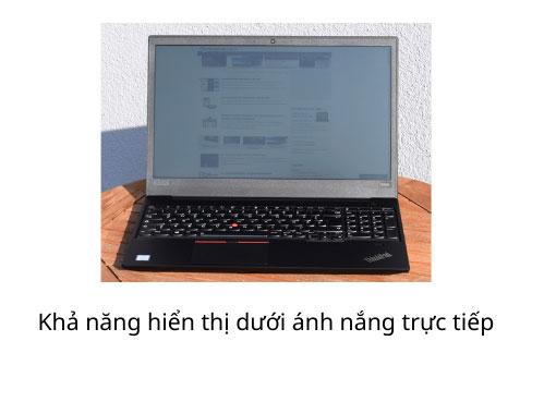 thinkpad e590 laptop màn hình chống loá