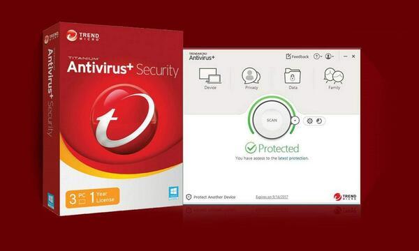 Phần mềm diệt vi rút Trend Micro Antivirus+ Security