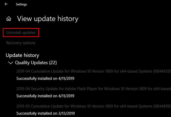 cách update windows 10