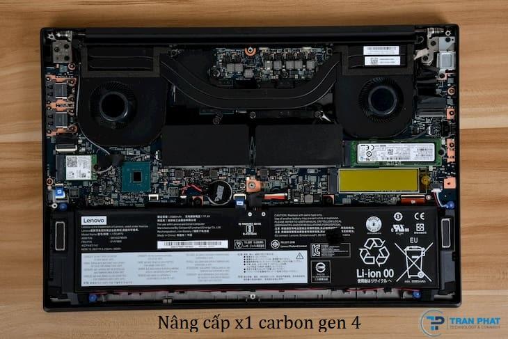 nâng cấp x1 carbon gen 4