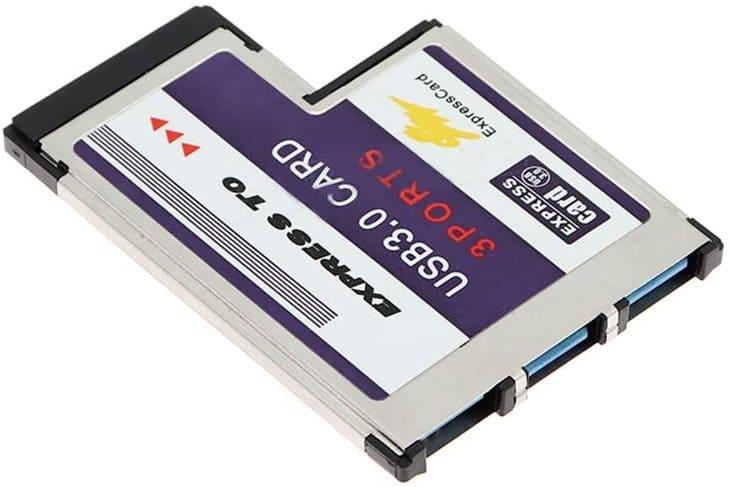 cổng usb express card ronshin vga gắn ngoài laptop