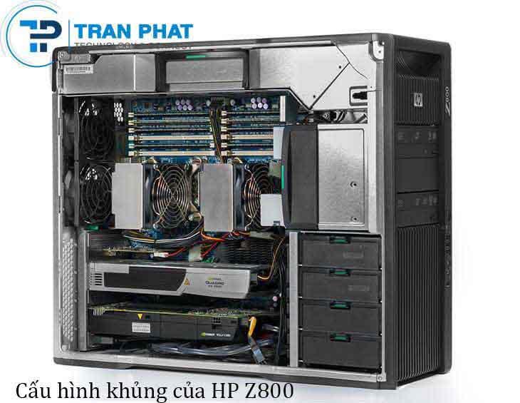 Cấu hình khủng của máy trạm workstation HP z800