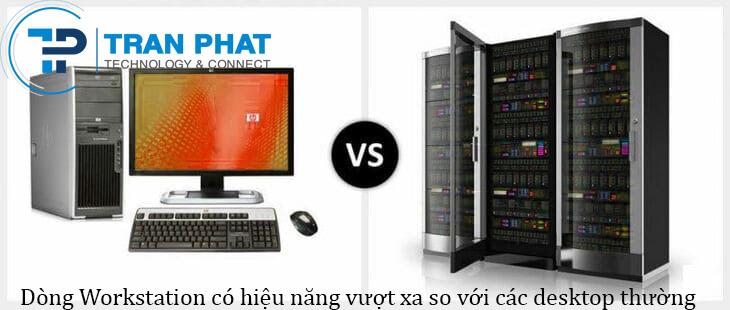 So sánh sự khác nhau giữa workstation với server